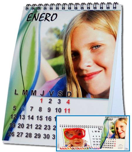 Calendarios personalizados de escritorio del 2017